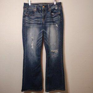 American Eagle Favorite Boyfriend Denim Jeans 10S
